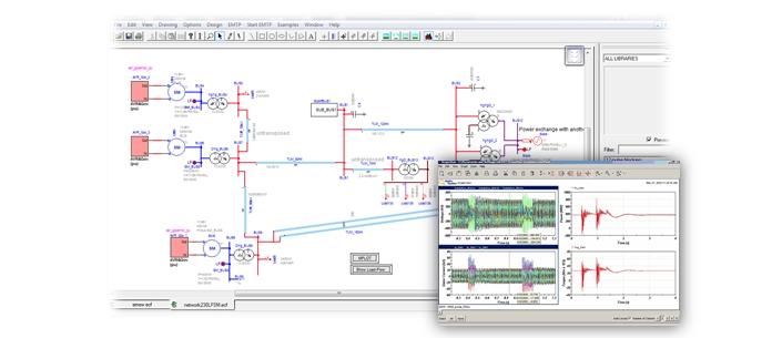 EMTP-RV 電磁暫態模擬軟體