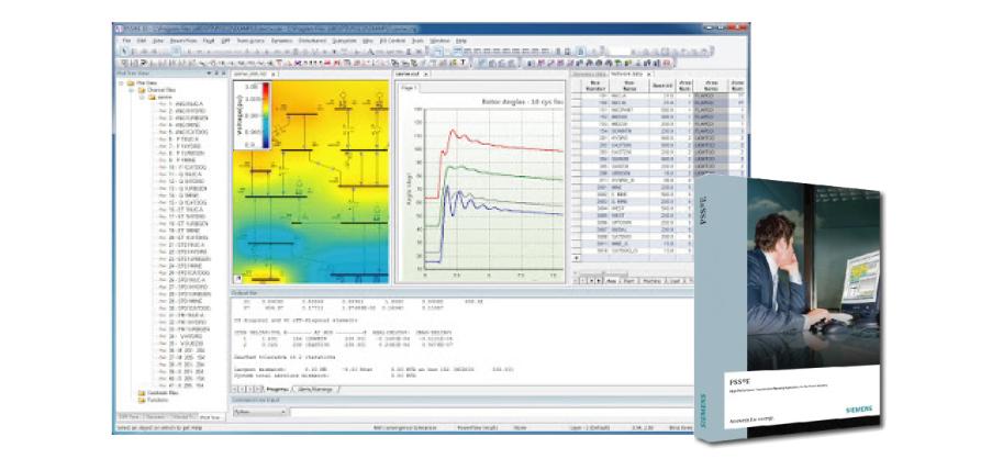 PSS®E 輸電系統衝擊分析軟體