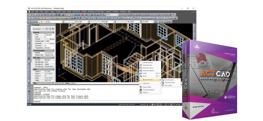 ActCAD 工程繪圖軟體